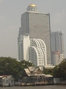 Les grattes ciel de Bangkok