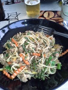 Plat thai délicieux