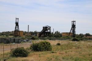 Ancienne mine région d'Iglesias