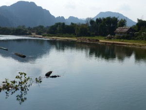 La riviere Vang Vieng