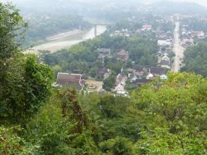 Vue du Mont Phousi