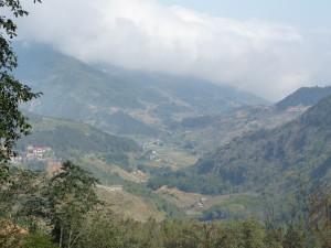 La vallée de Sapa