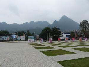 La place de ha Giang