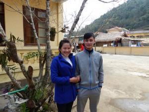 La guide locale et son mari