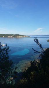 La Corse en fond sous marin